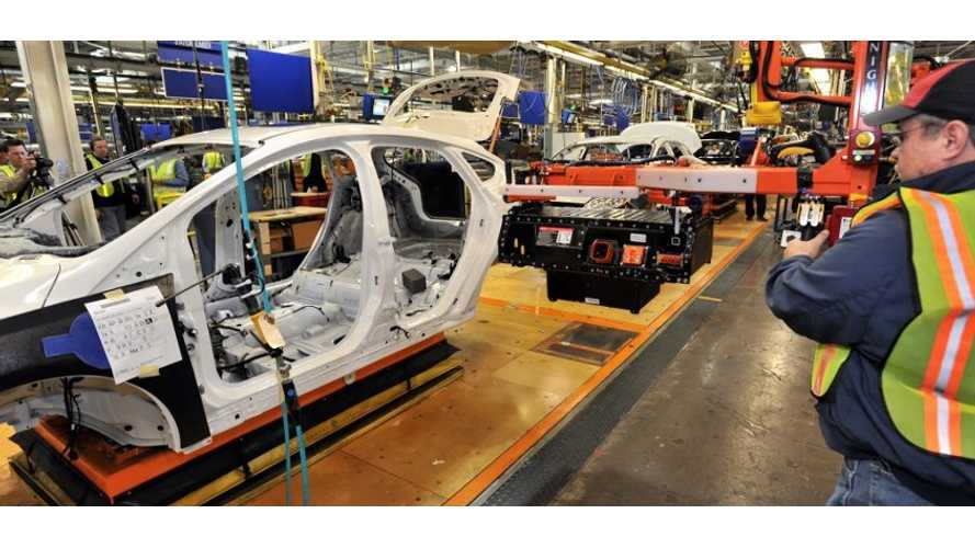 Ford Makes History With C-Max Energi At Michigan Assembly Plant