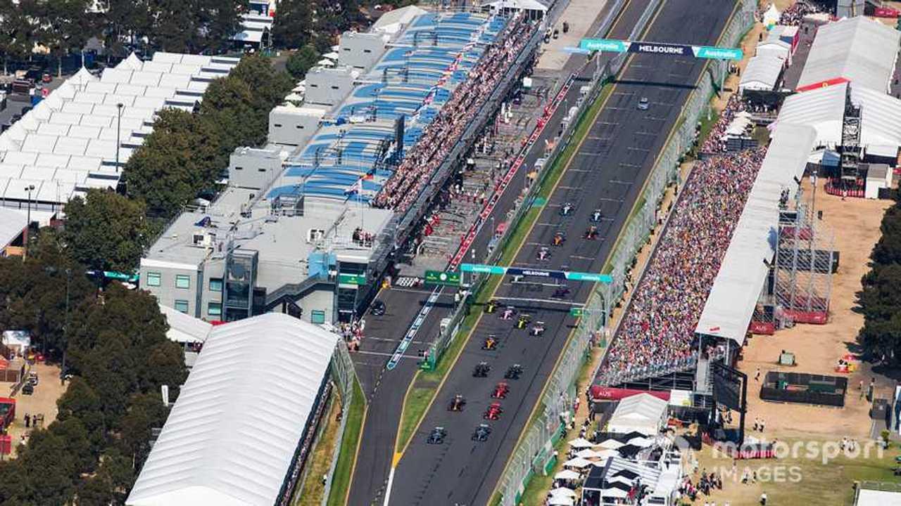 Australian GP 2019 start of race