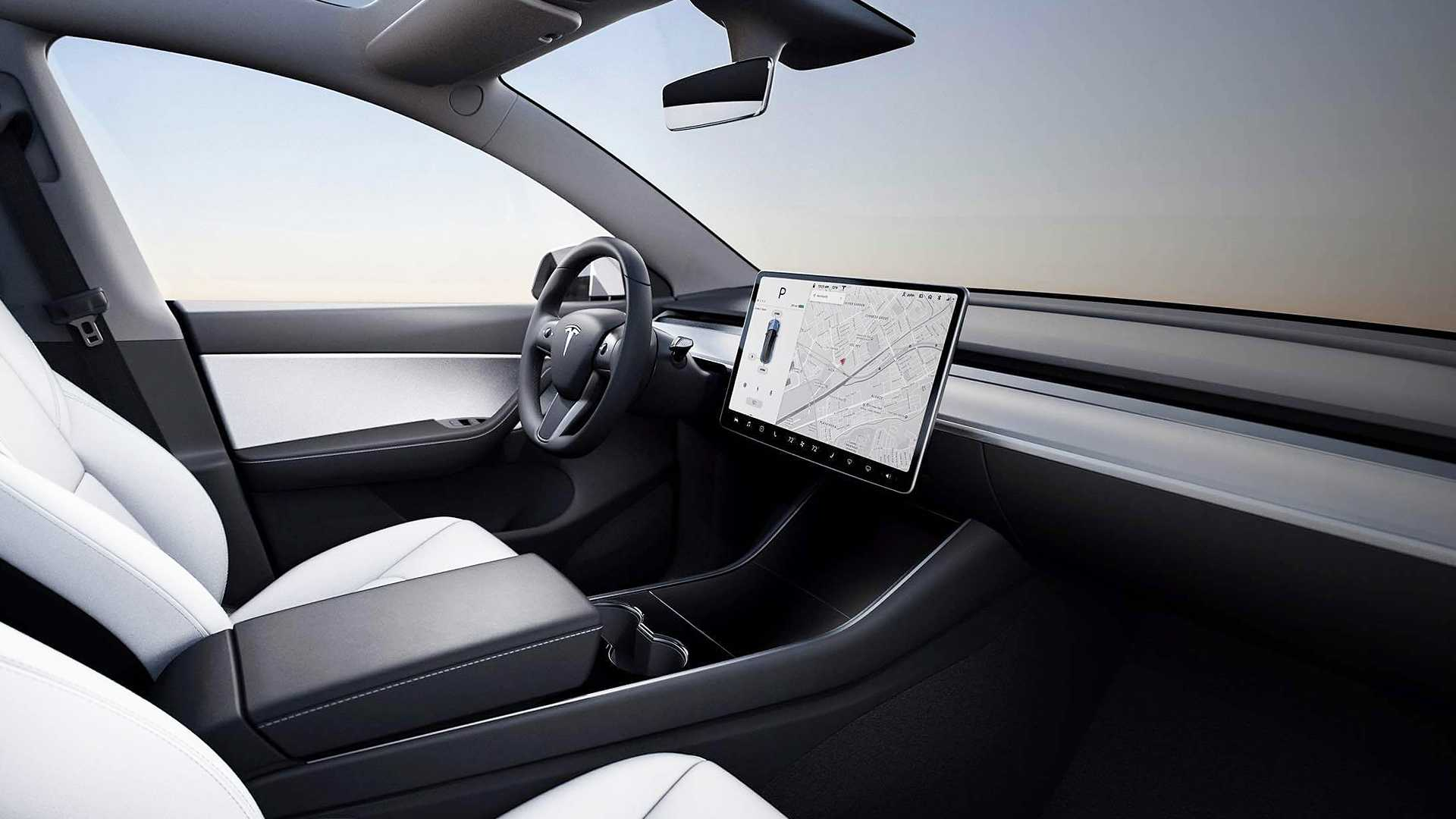 Tesla's In-Car Screen Gets Top Marks In Consumer Reports Survey