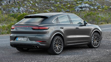 Porsche Cayenne Coupe revealed with its dramatically sloped roofline