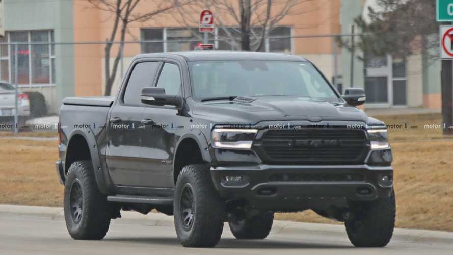 Hellcat-Powered 2021 Ram Rebel TRX Spied Testing