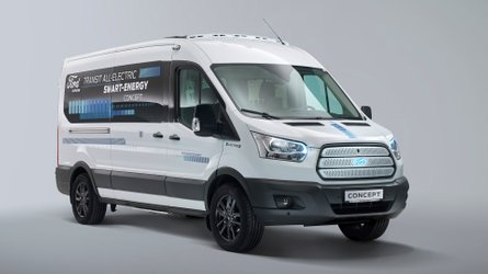 Ford Transit Smart Energy Concept, laboratorio per elettrici
