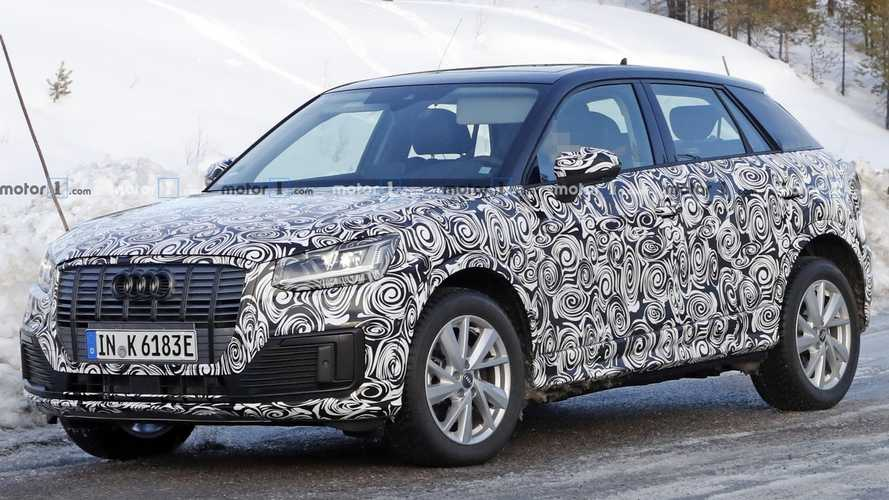 Audi Q2 E-Tron Spied Testing Electric Powertrain [UPDATE]