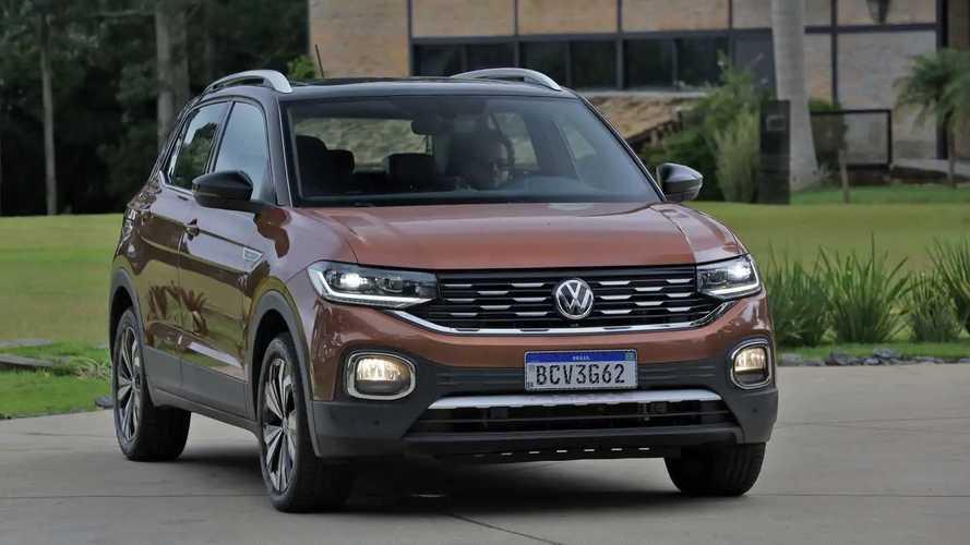 VW T-Cross retoma a liderança entre os SUVs compactos em setembro