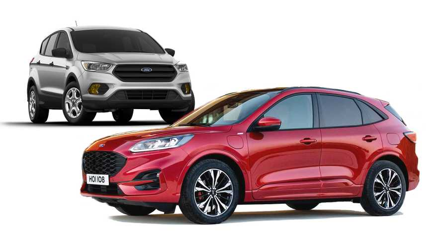 2020 Ford Kuga: See the changes side-by-side