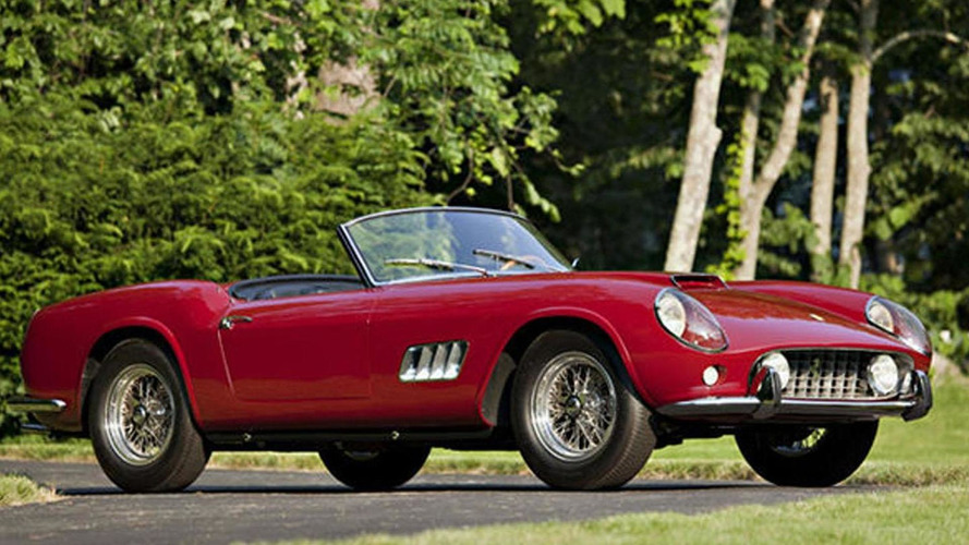 1960 Ferrari California sells for over $11M at Pebble Beach