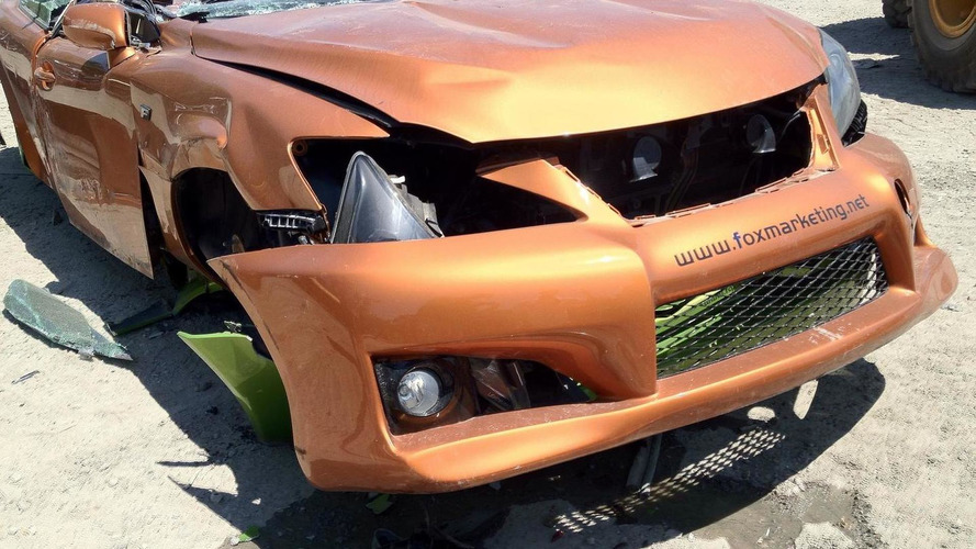 Fox Marketing Lexus concepts get crushed 29.5.2012