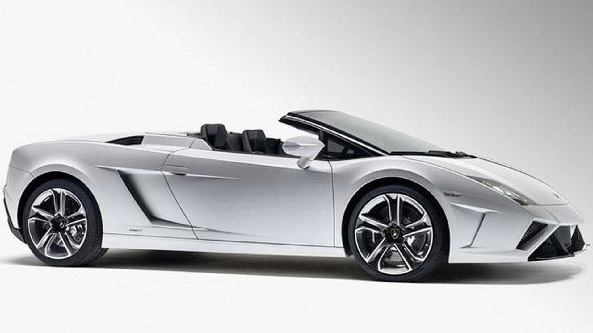 OFFICIAL 2013 Lamborghini Gallardo Spyder Revealed