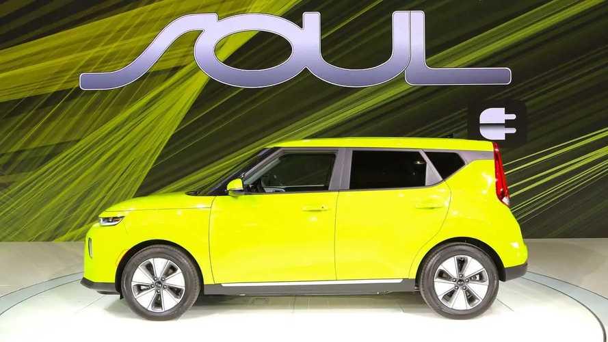 Nuova Kia Soul EV