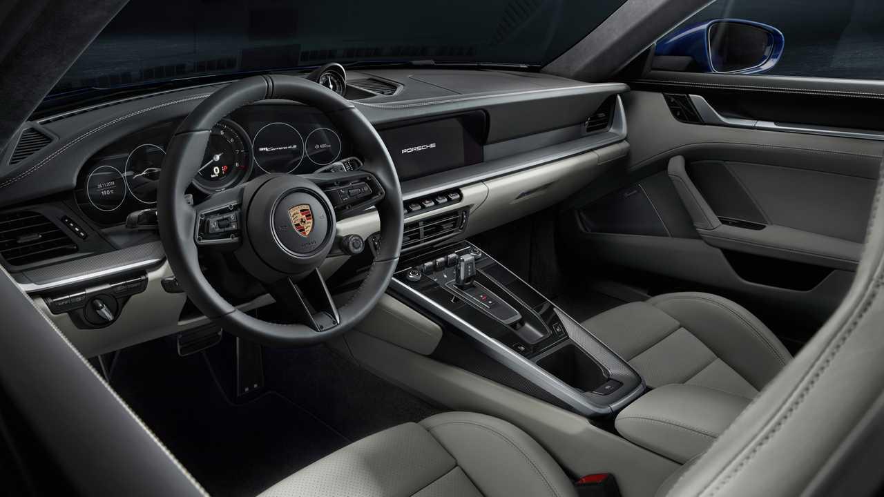 992 Porsche 911 Interior