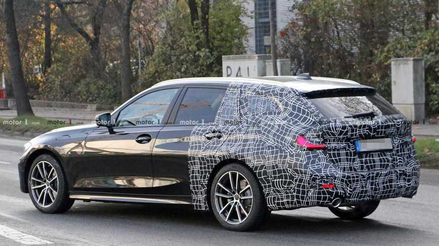 Yeni BMW 3 Serisi Wagon bir kez daha görüntülendi