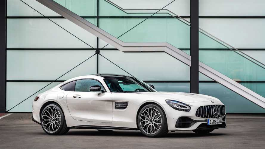 La Mercedes-AMG GT évolue subtilement