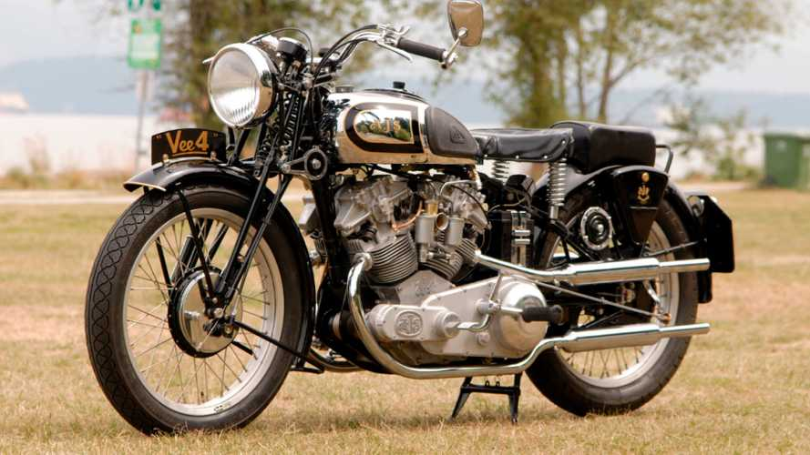 Homebuilt Classic AJS Replica Goes Up For Auction
