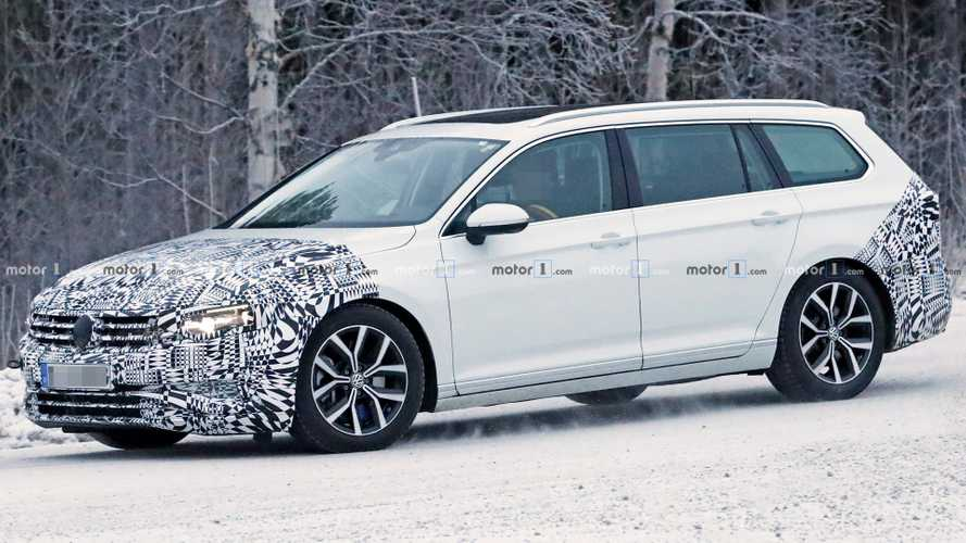 2019 VW Passat Variant Makes Snowy Spy Photo Debut