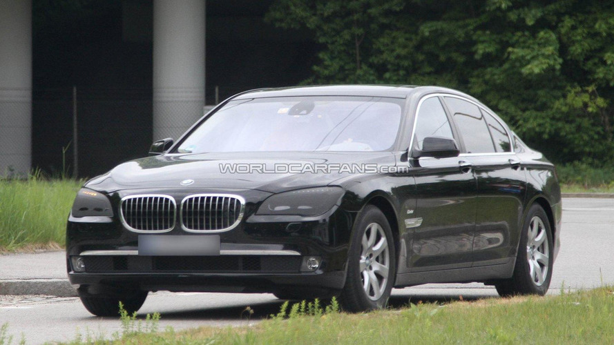 2012 BMW 7-Series facelift spied