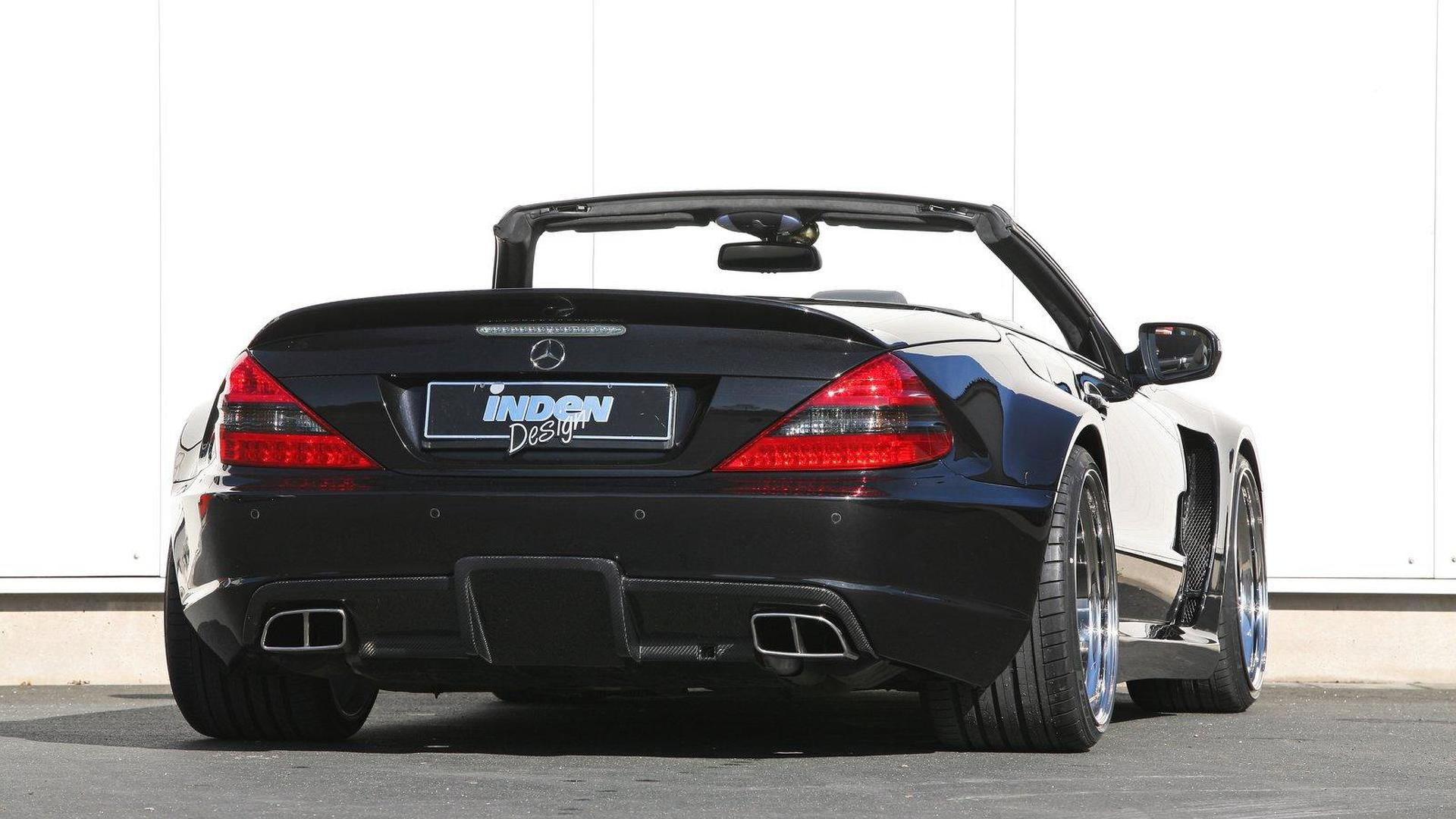 Mercedes Benz Sl 65 Amg By Inden Design Images, Photos, Reviews