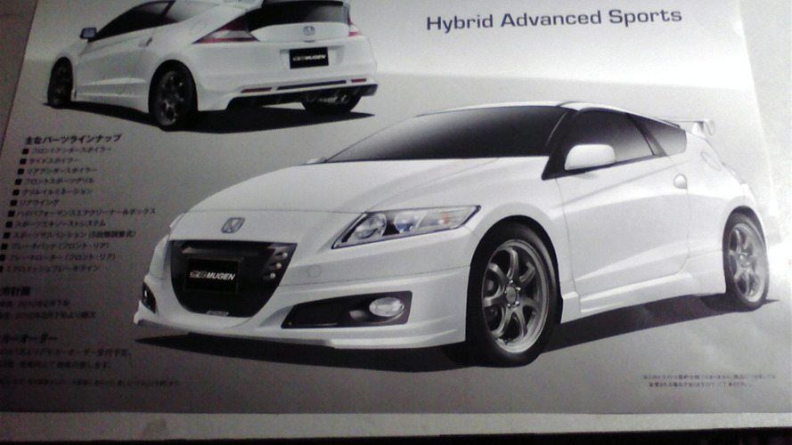 MUGEN Honda CR-Z Brochure Leak, Again