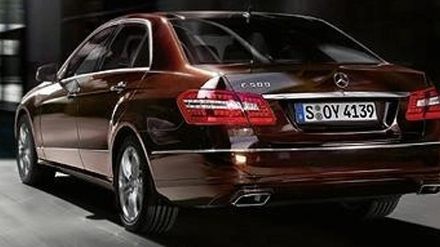 Official 2010 Mercedes E-Class Photos Leaked