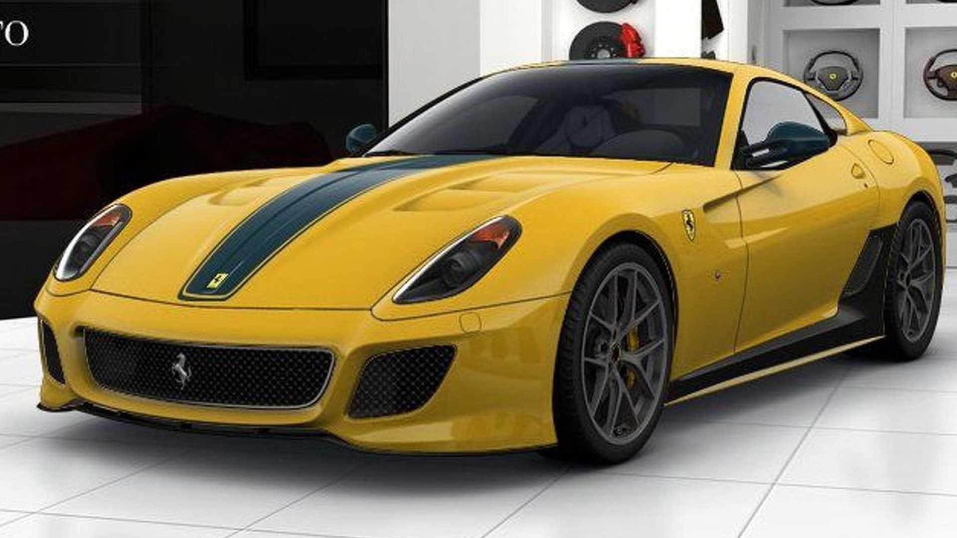 Ferrari 599 GTO Online Configurator Launched