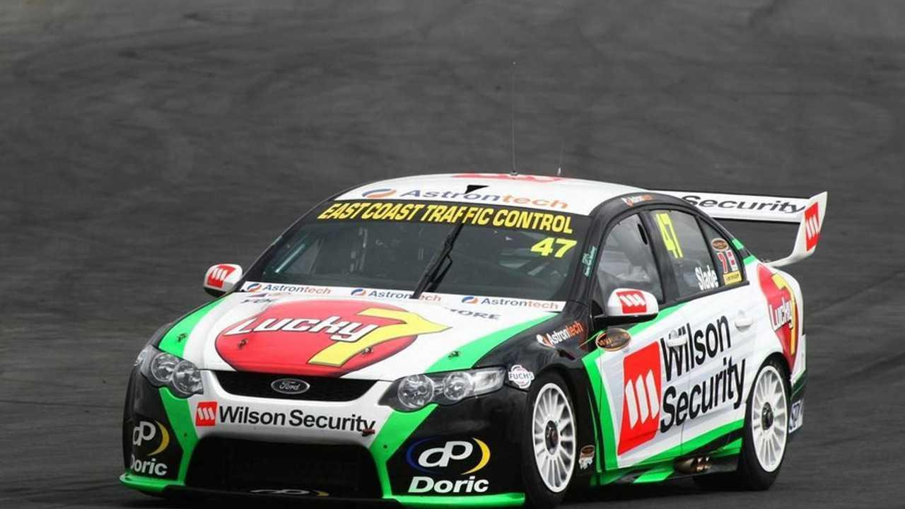 Tim Slade, #47 Wilson Security Racing - Queensland Raceway, Pre-Season testing, Australian V8 Supercars Championship