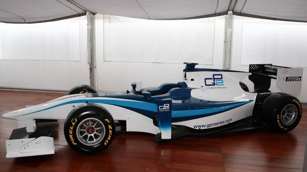 The launch of the 2011 GP2 car, on Pirelli tyres - GP2 Championship 2010, Rd 17 & 18, Italy, Thursday, 09.09.2010 Monza, Italy