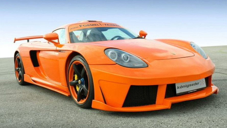 Porsche Carrera GT Enhanced by Konigseder