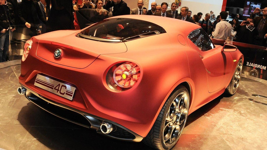 Alfa Romeo 2012 U.S. product offensive begins with 4C Coupe