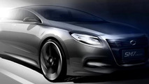 Renault Samsung SM7 concept teaser sketch, 650, 24.03.2011