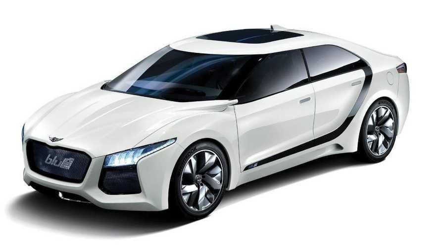 Hyundai's Blue2 fuel-cell concept