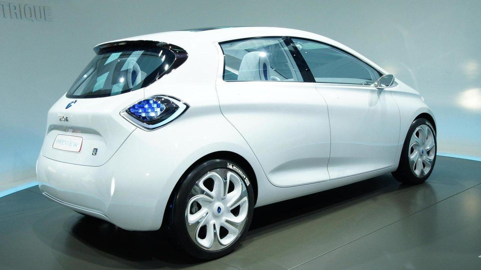 Renault ZOE Preview revealed future Clio