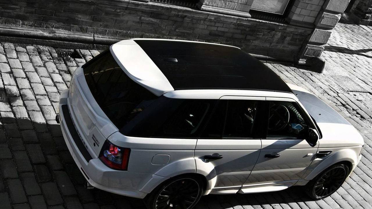 Project Kahn RS600 based on 2010 Range Rover Sport 5.0 HSE Supercharged - 16.02.2010