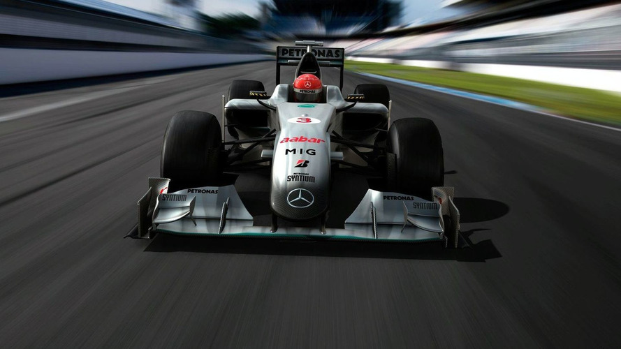 Mercedes GP reveals livery for 2010 car