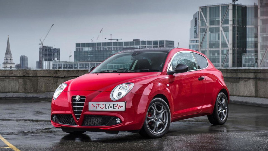 Alfa Romeo MiTo Live introduced in the U.K.