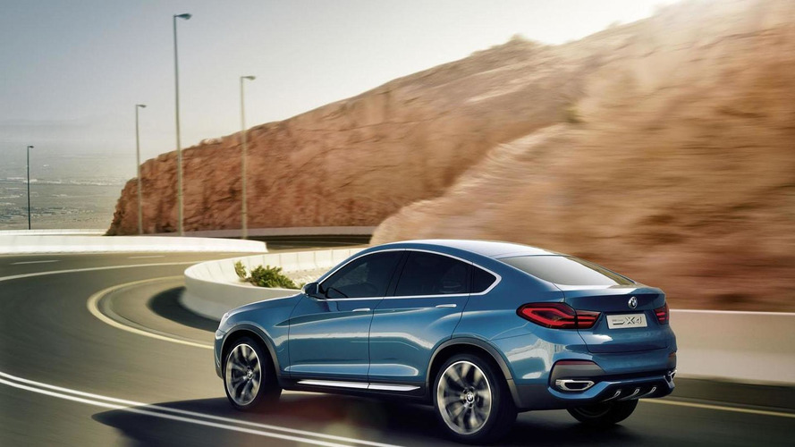 BMW releases new photos of the X4 concept
