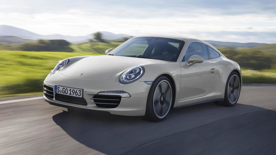 Porsche 911 50th Anniversary Edition announced