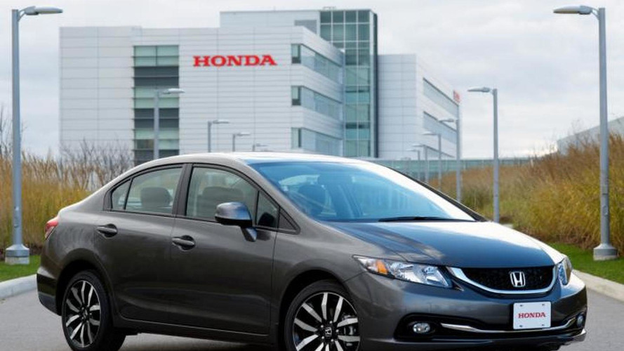 Honda brings updated Civic Sedan to Europe