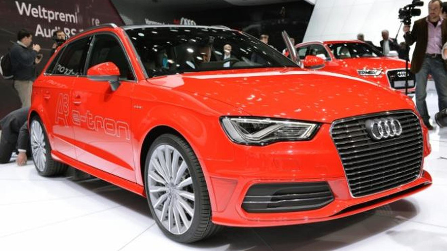 Audi A3 Sportback e-tron confirmed for 2014 launch