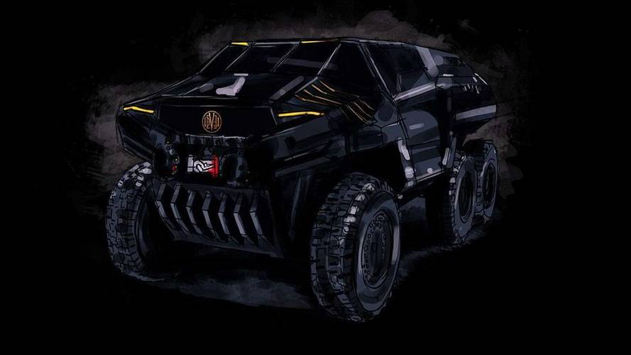Devel Sixty Is A Sinister 6X6 SUV Concept To Rival MB G63 AMG