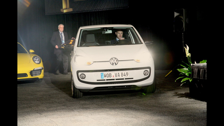 Volkswagen up! è World Car of the Year 2012