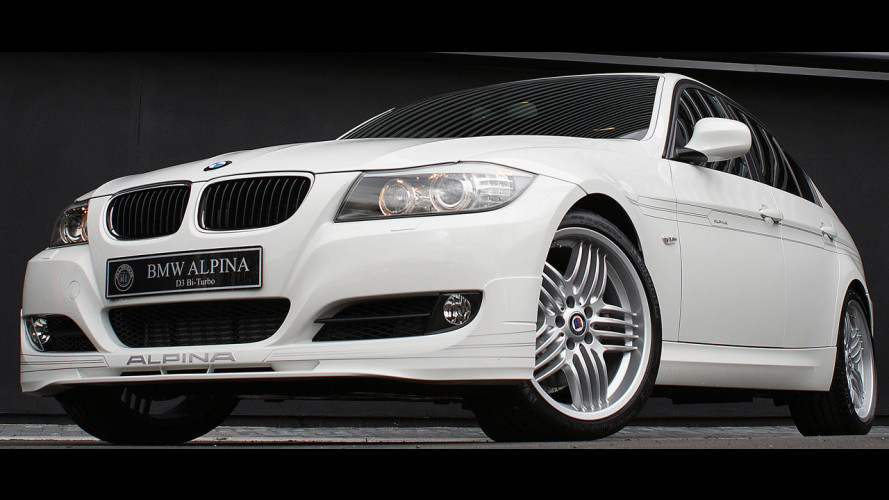 Alpina D3 Bi-Turbo restyling