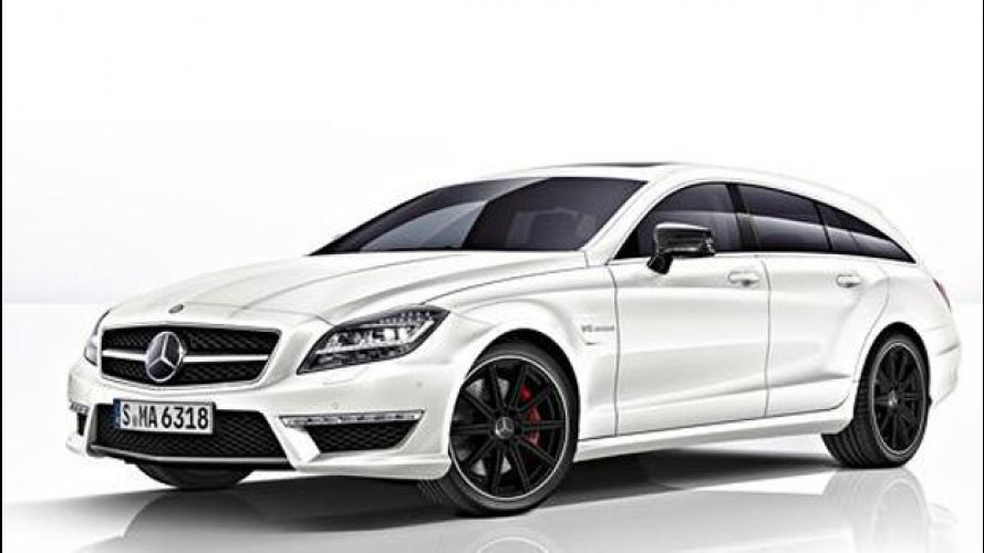 Mercedes CLS 63 AMG Shooting Brake, primo assaggio
