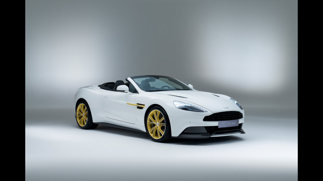Aston Martin Works 60th Limited Edition Vanquish