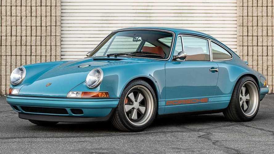 Así es el último Porsche 911 de Singer, en un llamativo azul turquesa