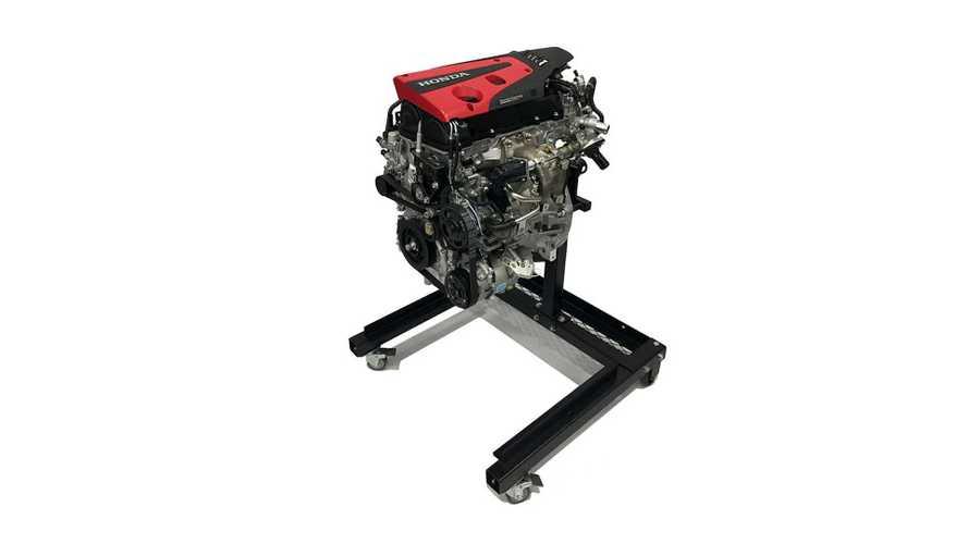 Motor 2.0 turbo do Honda Civic Type R será vendido separadamente por R$ 48 mil