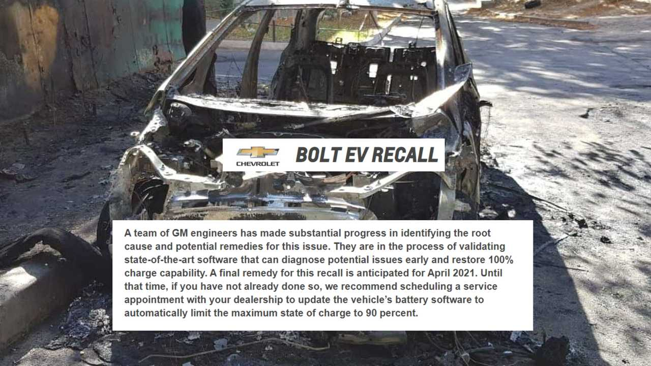 GM Would Have Found A Software Solution For The Chevy Bolt EV Fires