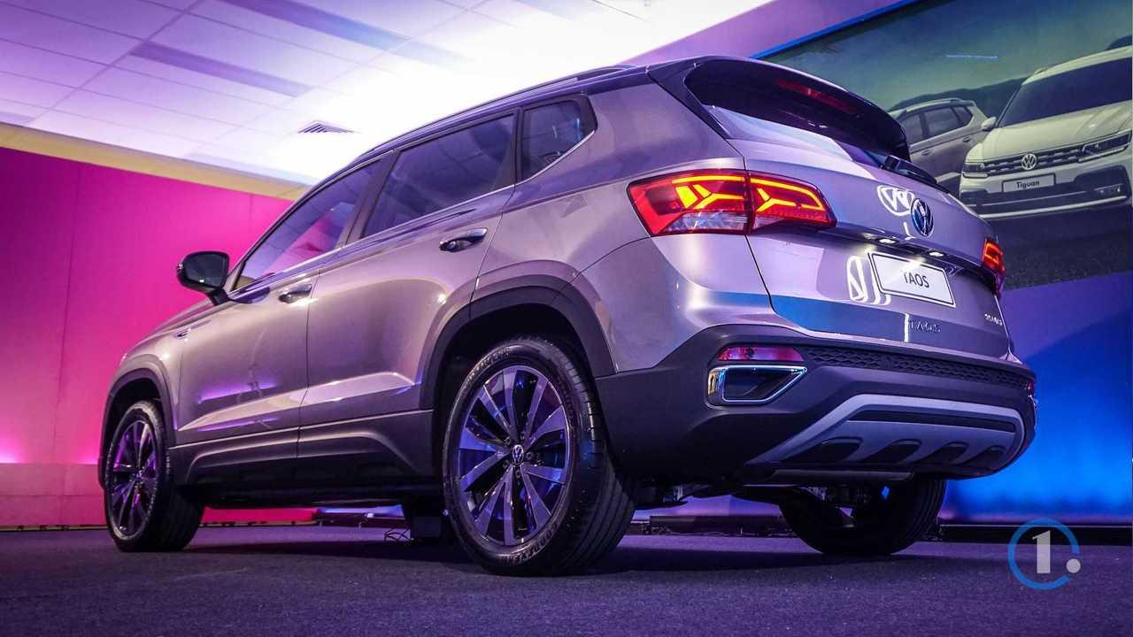 Novo Volkswagen Taos ao vivo no Brasil