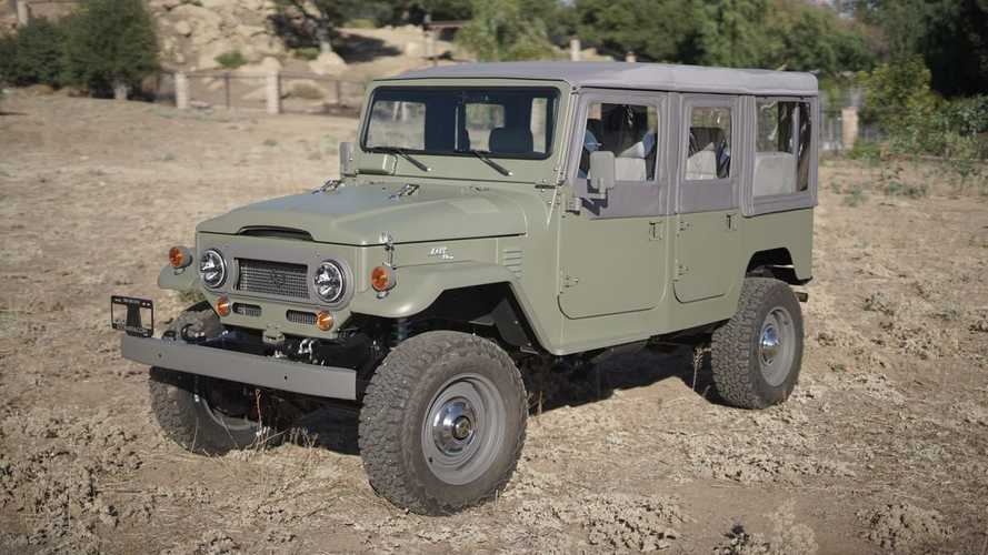 Icon 4x4 Made A New SUV Out Of A Very Old Toyota Land Cruiser