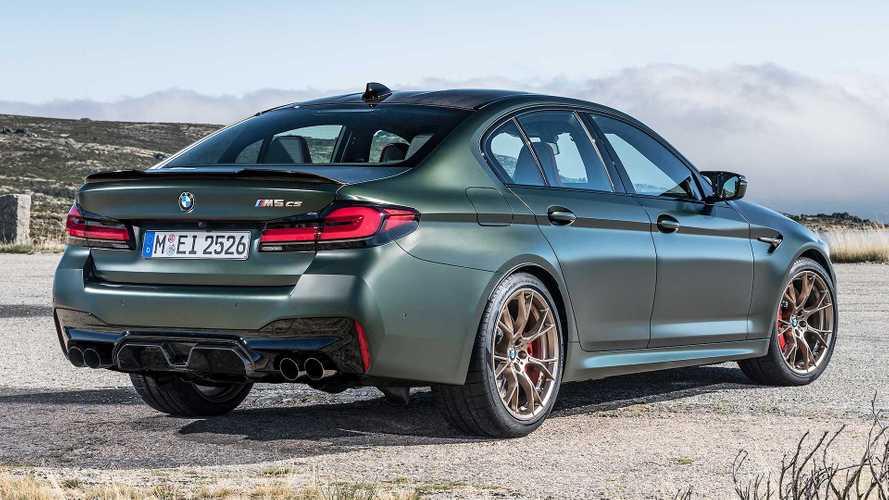 """BMW M5 CS, con 635 CV è lei la """"M"""" più potente di sempre"""