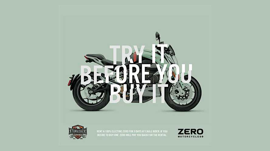 Try A Zero Motorcycle Before You Buy It With EagleRider Rentals