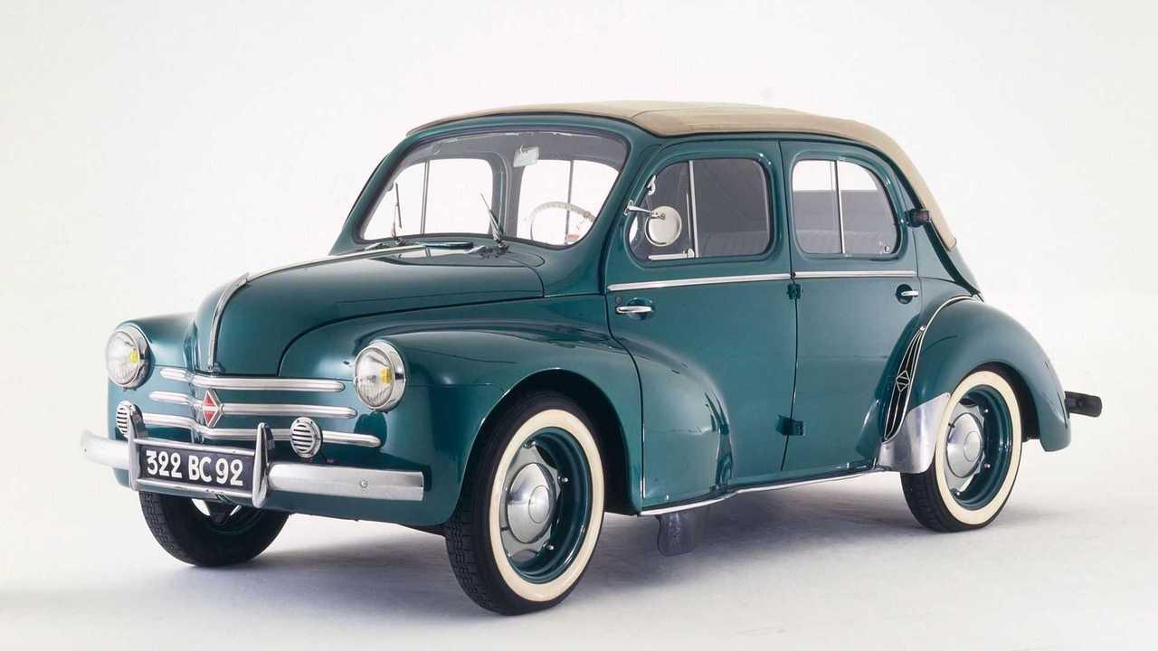75 Jahre Renault 4CV